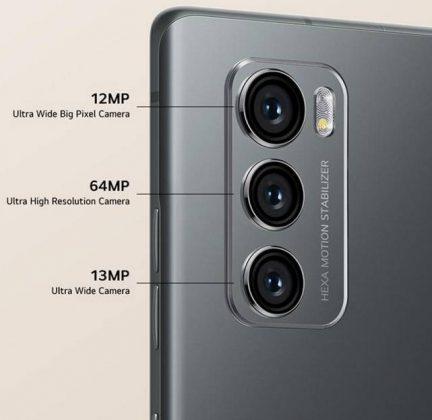 LG Wing - Rear Cameras