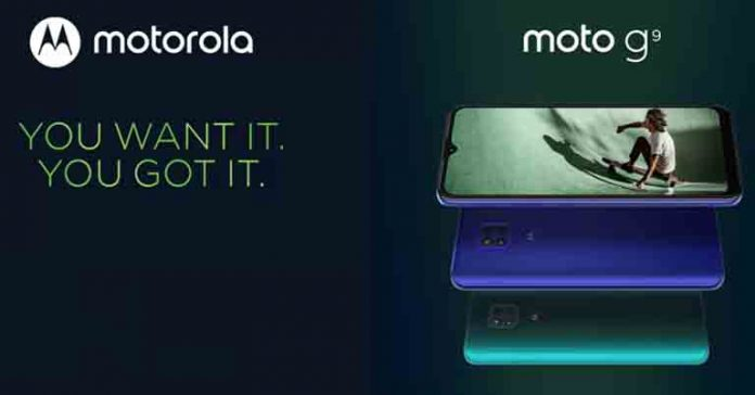 Moto G9 launched specs features price Nepal launch