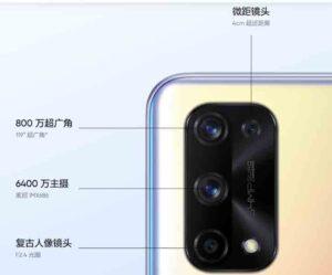 Realme X7 Pro Camera Setup