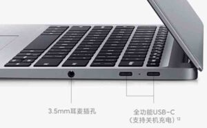 RedmiBook Air 13 Ports