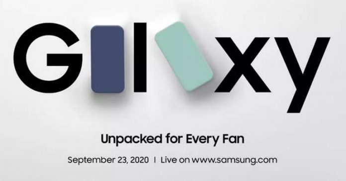 Samsung Galaxy S20 Fan Edition Unpacked Event