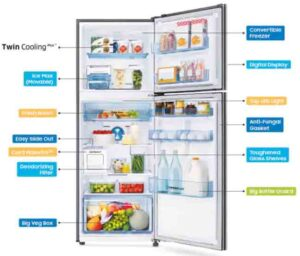 Samsung Smart Convertible 5 in 1 refrigerator