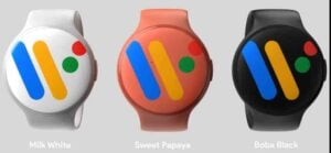Unofficial Google Pixel Watch color options