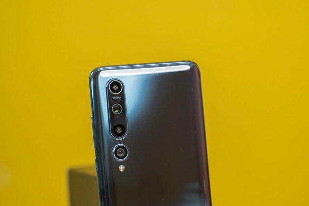 Xiaomi Mi 10 - Back Cameras