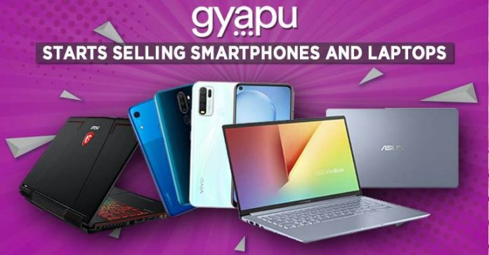 gyapu starts selling laptops and smartphones