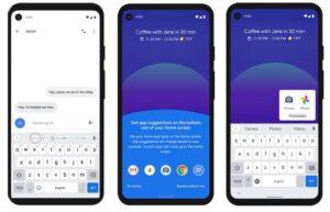 Android 11 - Predictive Tools