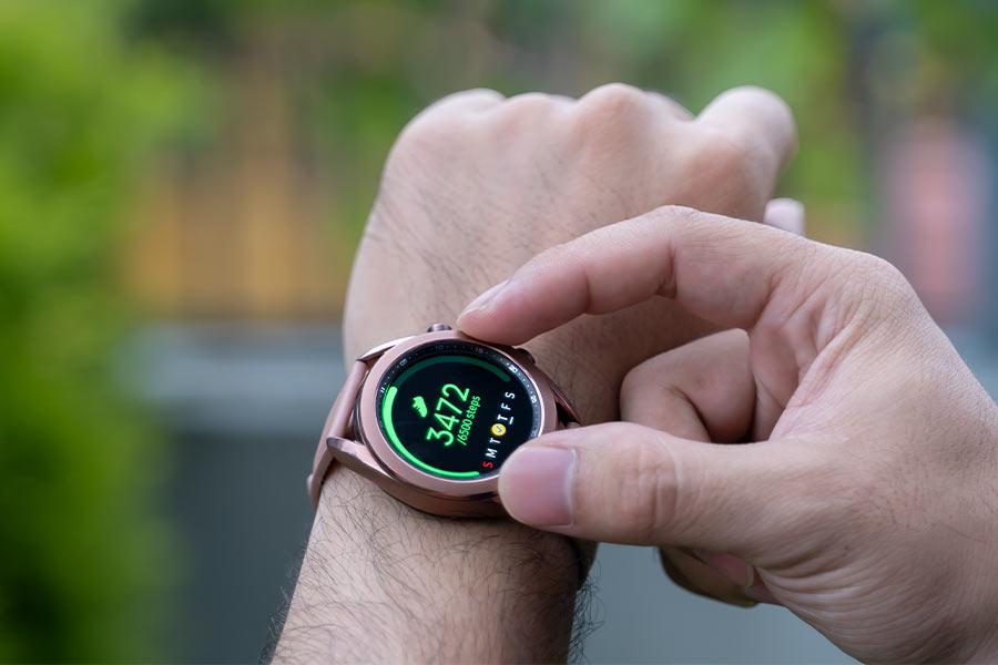 Galaxy Watch 3 - Rotating Bezel