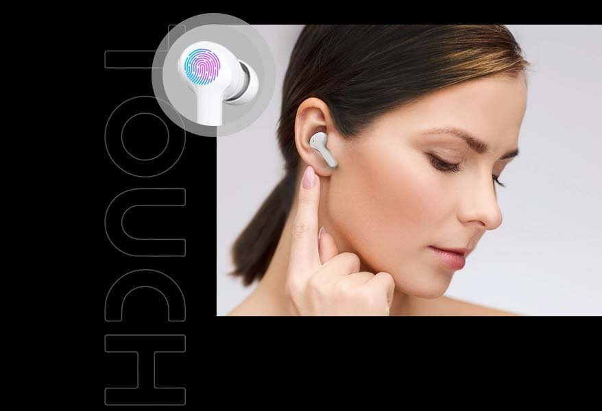 Honor Choice True Wireless Earbuds Touch Control