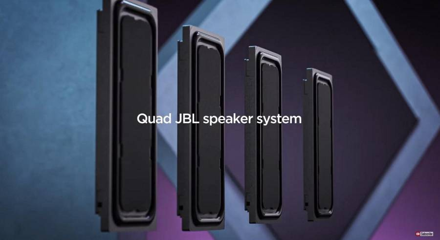 Lenovo Tab P11 Pro - Speakers
