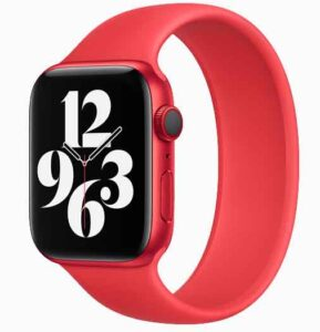 Product Red Apple Watch 6