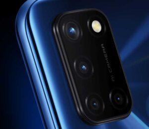 Realme C17 Camera setup