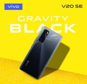 Vivo V20 SE Gravity Black