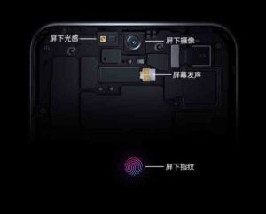ZTE Axon 20 5G under display camera