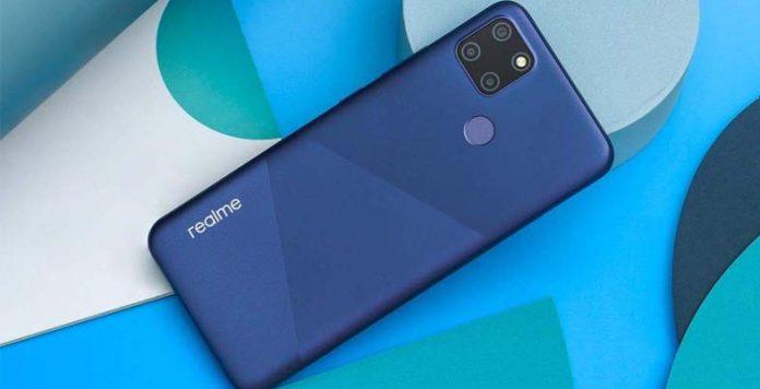 realme V3 design