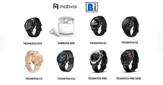 Mobvoi TicWatch (GTX, E2, S2, C2, C2+, Pro, Pro 2020) TicPods ANC Price in Nepal