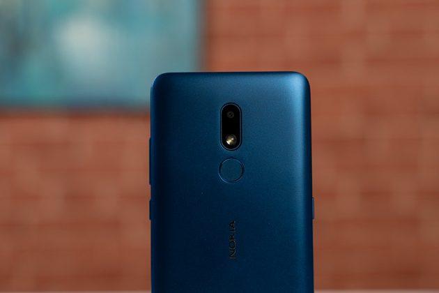 Nokia C3 - Back Camera