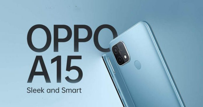 Oppo A15 launched price Nepal availability specs features