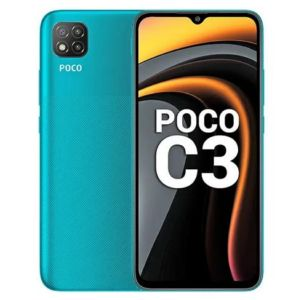 POCO C3 Lime Green