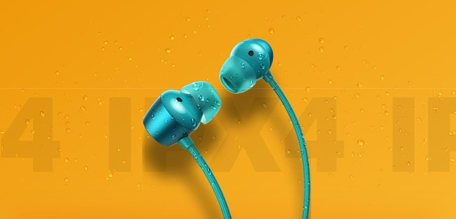 Realme Buds Wireless Earbuds IPX4 Rating
