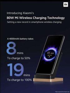 Xiaomi 80W Mi Wireless Charging Technology