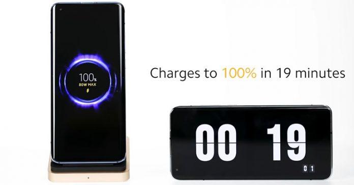 Xiaomi 80W Mi Wireless Charging Technology Announced fastest