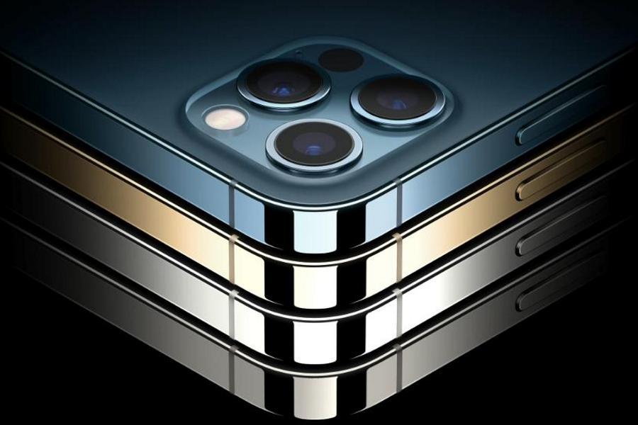 iPhone 12 Pro, Max - Stainless Steel Frame