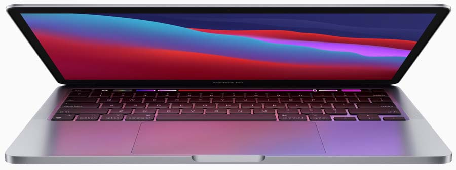Apple 13 inch MacBook Pro with M1 silicon