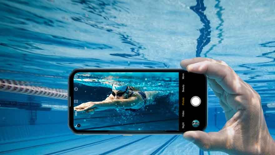 Blackview BL6000 Pro 5G under water camera