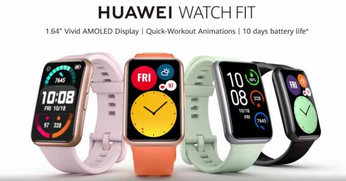 Huawei Watch Fit Launched Price Nepal Availability Specification Features