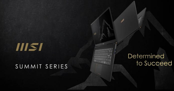 MSI Summit Laptops B15 E15 Launched in Nepal Price Specs Where to buy