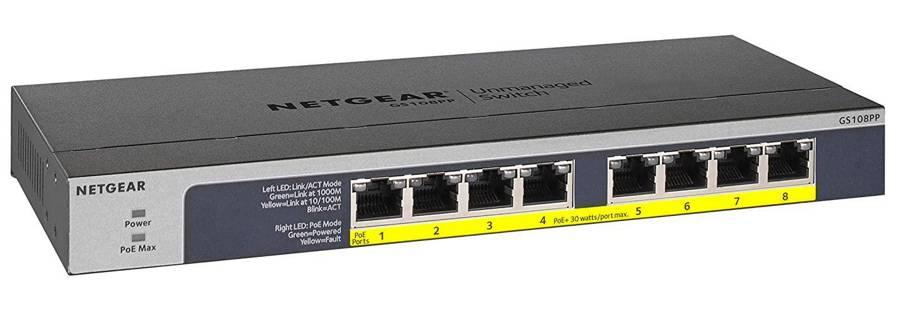 Netgear GS108PP Switch