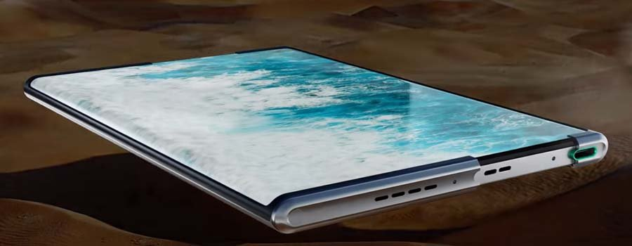 Oppo X 2021 Rolling Display