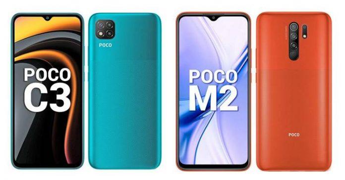 Poco Mobile Phones Price in Nepal - C3, M2 Redmi 9 Prime 9C