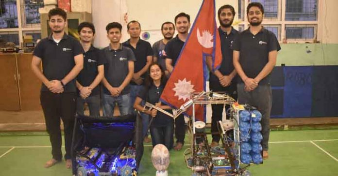 Pulchowk Robotics Club in ABU Robocon Festival 2020
