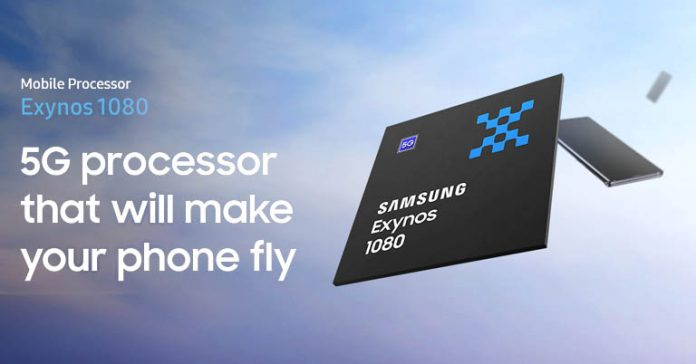Samsung Exynos 1080 5G Soc launched