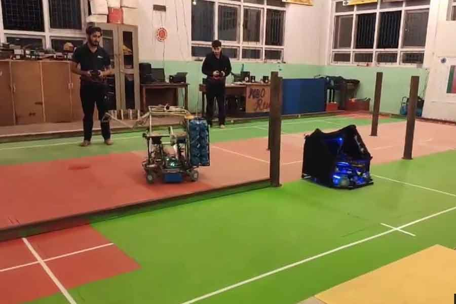 Try Robots and Pass Robots from Team Nepal