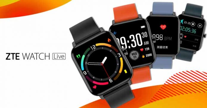 ZTE Watch Live Launched Price Nepal Availability Specifications