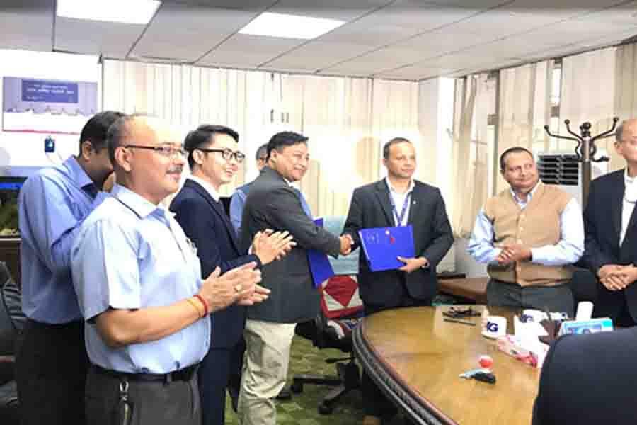 Agreement between VNPT and Nepal Telecom
