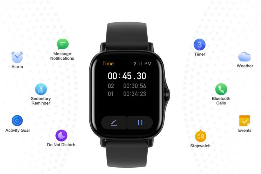 Amazfit GTS 2 GPS Smartwatch - Features
