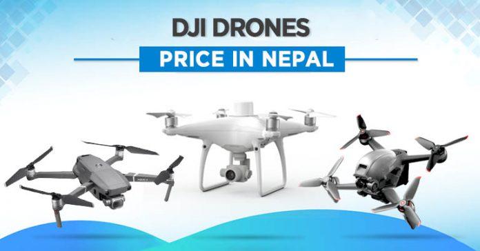 DJI Drones Price in Nepal 2021 mavic zoom mini 2 phantom 4 pro version 2.0 fpv rtk tello boost global