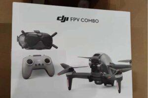 DJI FPV Drone Combo Packaging