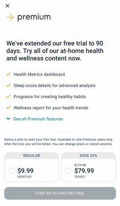 Fitbit App - Premium