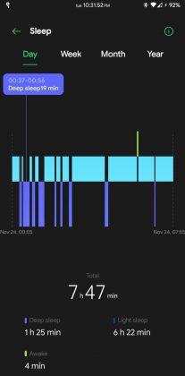 HeyTap Health - Daily Sleep Record
