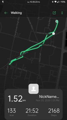 HeyTap Health - Location Tracking