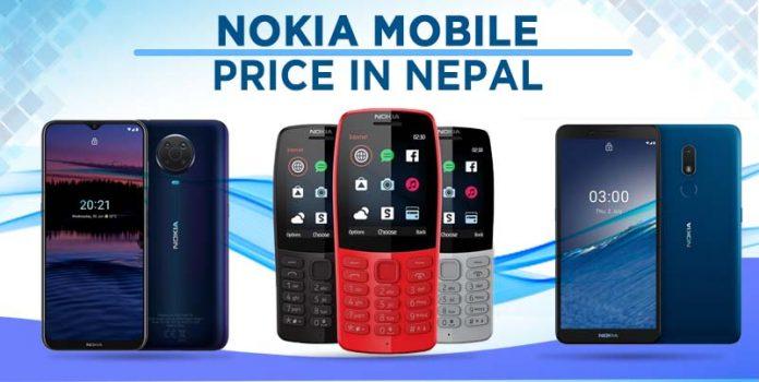 Nokia Mobile Price in Nepal 2021 bar phones smartphones