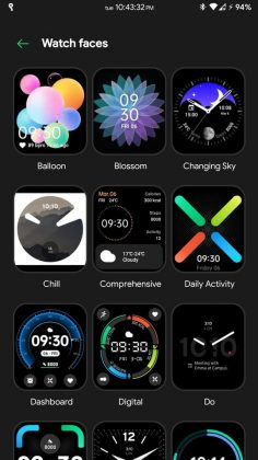 OPPO Watch - Watch faces 1