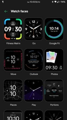 OPPO Watch - Watch faces 2