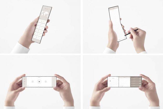 Oppo Side Phone Unfolded