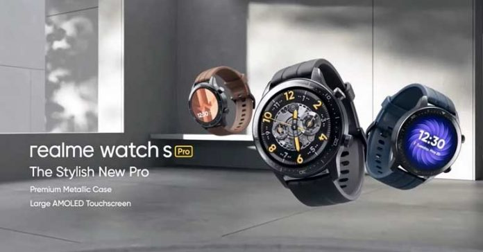 Realme Watch S Pro launched Price Nepal Specs Features Availability
