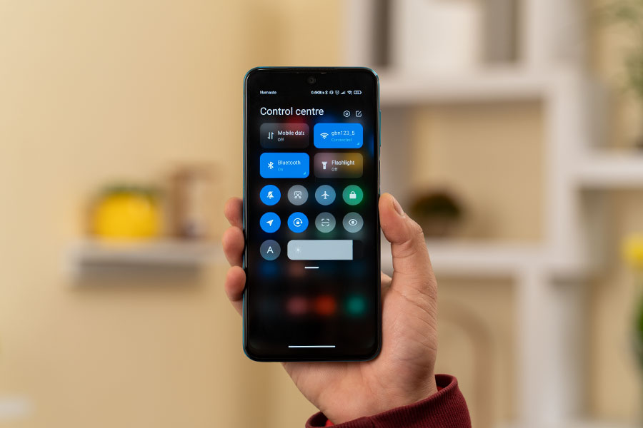 Redmi Note 9 Pro Max- UI
